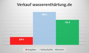 Einkommen Domainverkauf wasserenthärtung.de