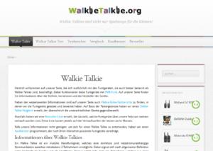 Snapshot walkietalkie.org