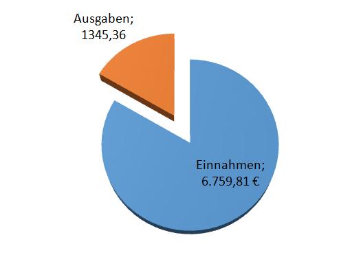 Einahmen und Ausgaben 2015